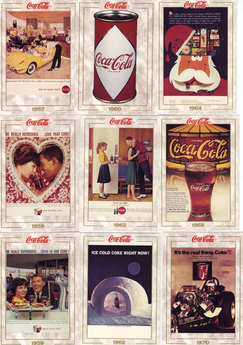 Coca Cola Trading Cards set 1