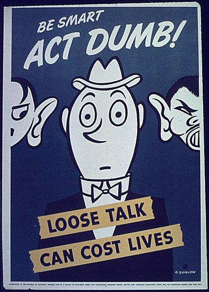 ww2 propaganda posters loose lips