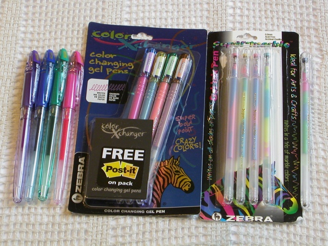 My Gel Pen Collection Page 3